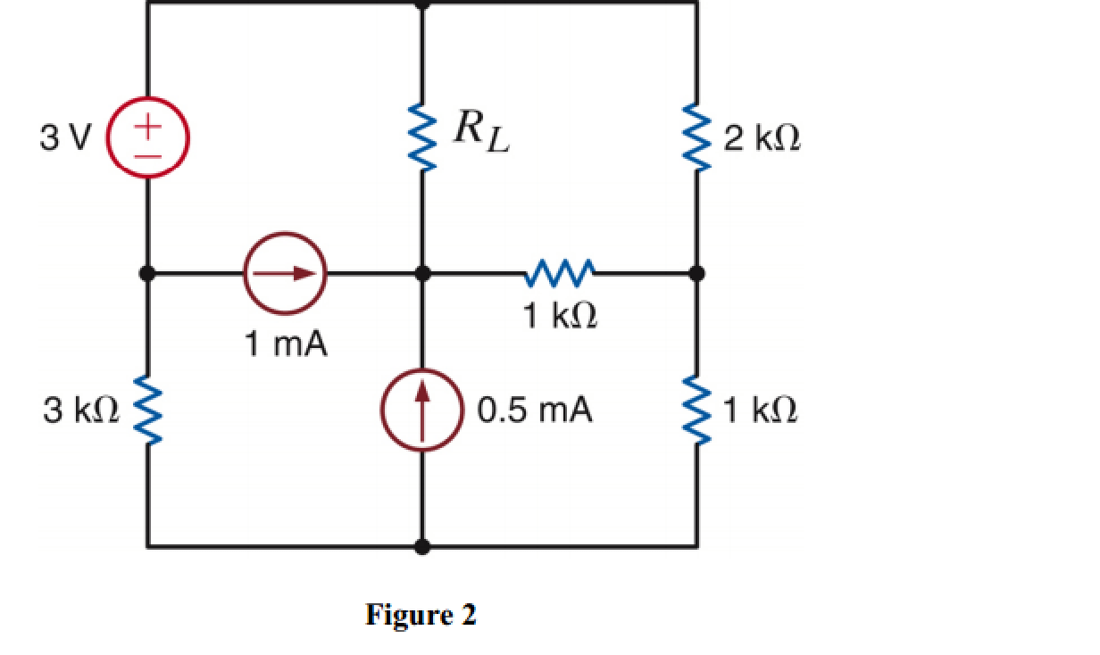 For The Circuit In Figure 2, Find RL For Maximum