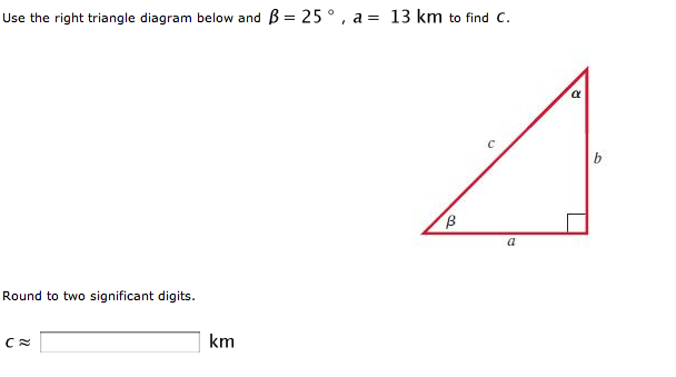 Use The Right Triangle Diagram Below And Beta