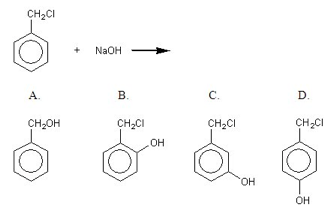 Identify The Principal Organic Product When Benzyl
