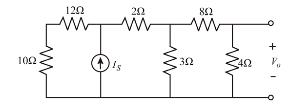 Solved: In the circuit in Fig. P2.89, V0 = 2 V. Find IS