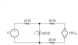 Solved: Use The Node-voltage Method To Calculate The Power