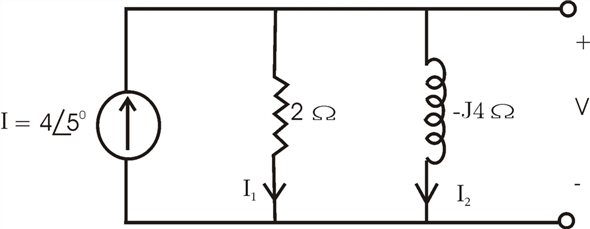 Solved: Draw a phasor diagram to illustrate all currents