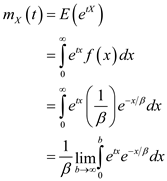 Solved: Let X be an exponential random variable with