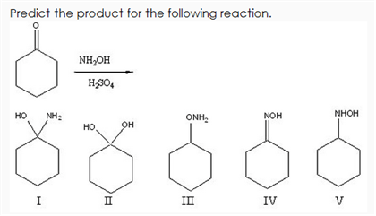 Solved: Predict The Product For The Following Reaction