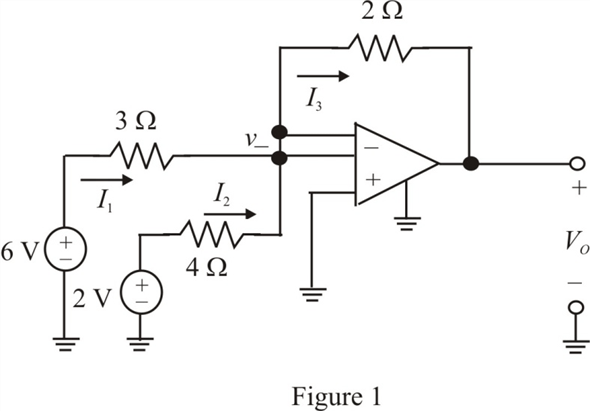 Solved: What is the output voltage Vo in Fig. 4PFE-3?a. −5