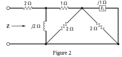Solved: Find Z in the network in Fig. P8.11.Figure P8.11