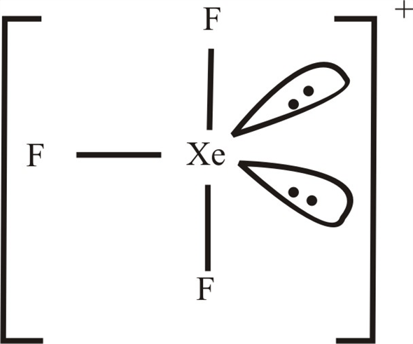 Solved: Antimony pentafluoride, SbF5, reacts with XeF4 and