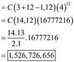 Solved: Find the coefficient of x12 in the power series of