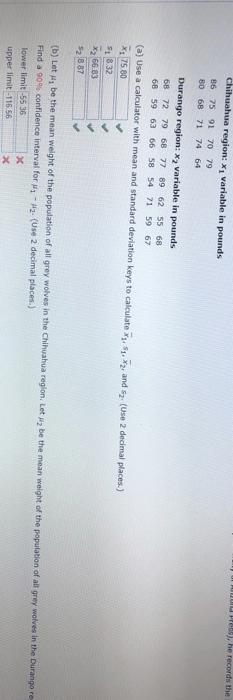 Chihuahua Weight Calculator : chihuahua, weight, calculator, Solved:, Region, Chegg.com
