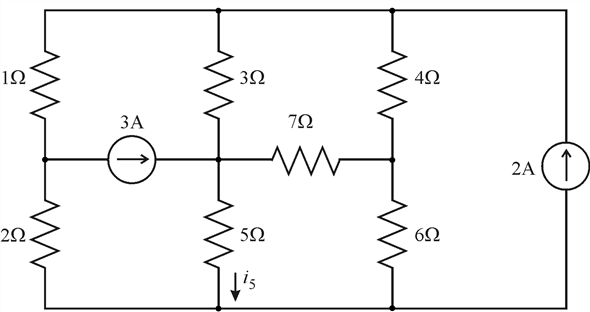 Solved: For the circuit of Fig. 4.40. use nodal analysis