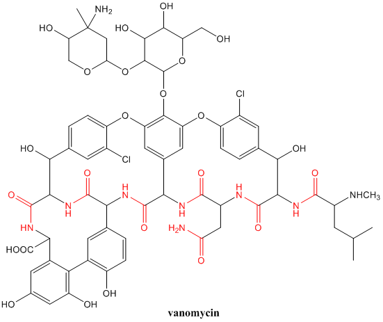 Solved: Vancomycin is an especially useful antibiotic for