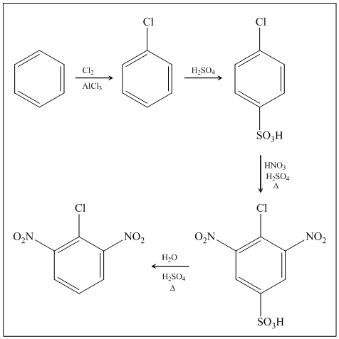 Solved: Show syntheses of these compounds from benzene