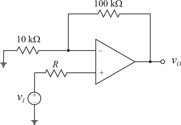 Solved: For the op-amp in Figure P14.51, the input offset