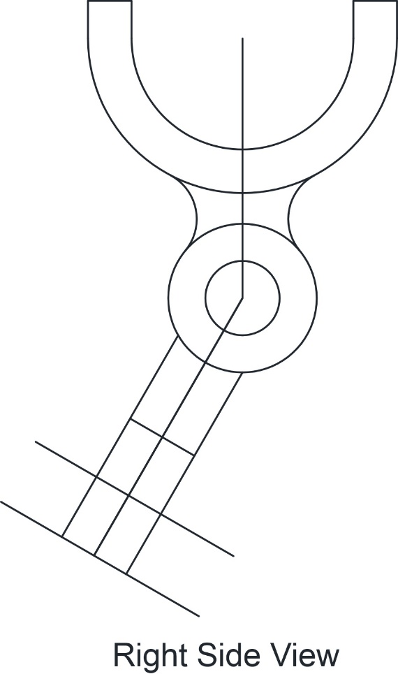 Solved: Shifter Fork. Draw necessary views, including