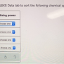 Solved Use The Information In The Aleks Data Tab To Sort
