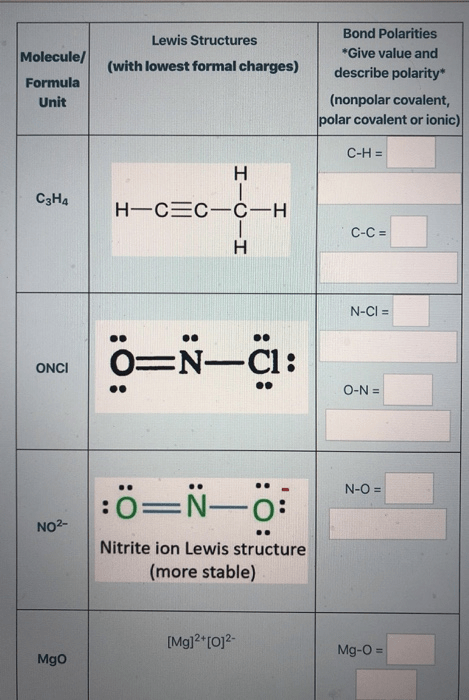 C3h4 Lewis Structure : lewis, structure, Solved:, Lewis, Structures, (with, Lowest, Formal, Charges), Mole..., Chegg.com