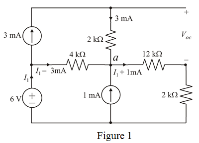 Solved: Find Vo in the circuit in Fig. P5.43 using