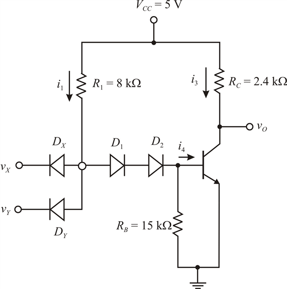 Solved: In Figure PI 7.21, the transistor current gain is