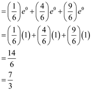 Solved: Let m(t) = (1/6)et + (2/6)e2t + (3/6)e3t. Find the
