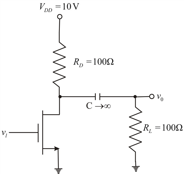 Solved: For the common-source circuit shown in Figure 8.17