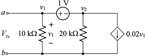 Solved: With regard to the circuit of Fig. 5.82. determine