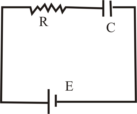 Solved: A battery is used to charge a capacitor through a