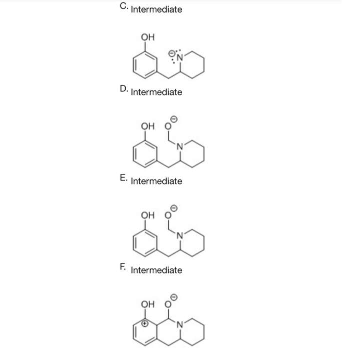 Solved: Complete The Mechanism For The Following Reaction