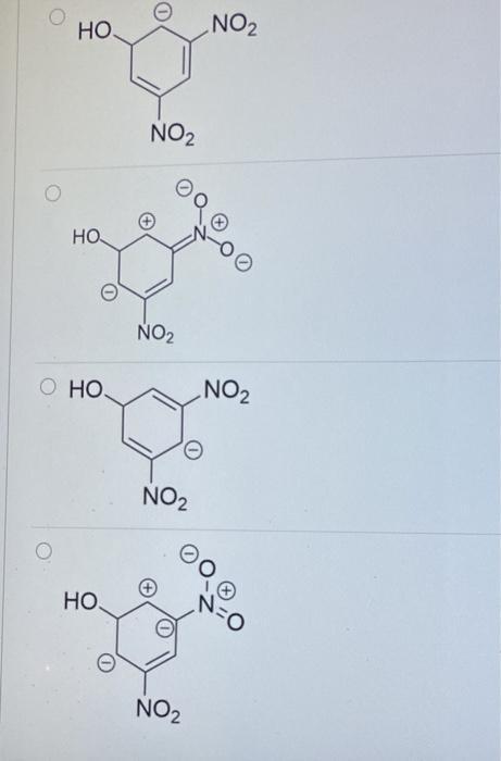 No2- Resonance Structures : resonance, structures, Solved:, Reaction, Intermediate, Shown, Below,, Identif..., Chegg.com