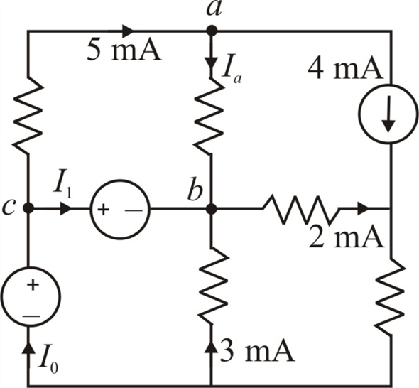 Solved: Find I0 and I1 in the circuit in Fig. P2.12.Figure