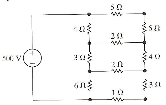 Solved: Solve This Circuit Using The Mesh-current Method