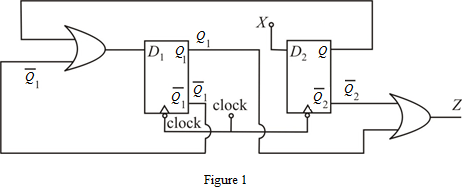 Solved: Analyze the following clocked synchronous