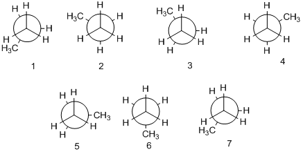 Solved: Torsional strain resulting from eclipsed C─H bonds