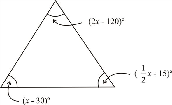 Solved: Find the measure of each angle in the triangles