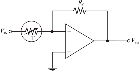 Solved: Devise a circuit for remotely sensing temperature