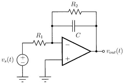 For The Op-amp Circuit Above Assume The Op-amp Is