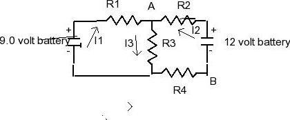 Solved: Find The Current Through The 2 Ω Resistor And Thep