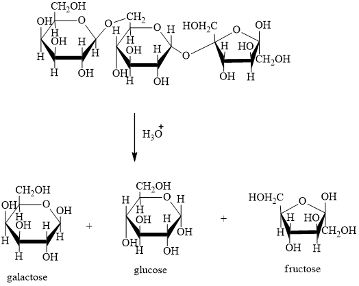 Solved: Raffinose is a trisaccharide found in Australian