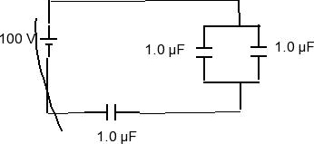 Solved: What Is The Equivalent Capacitance Of The Combinat