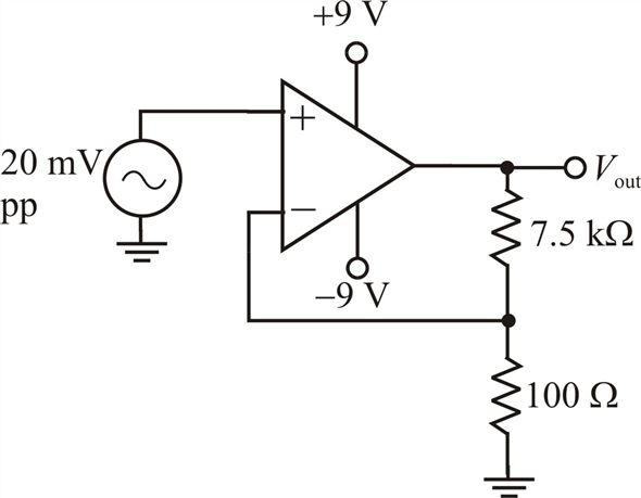 Solved: In Fig. 19-16, the op amp has an Rin of 3 MΩ and