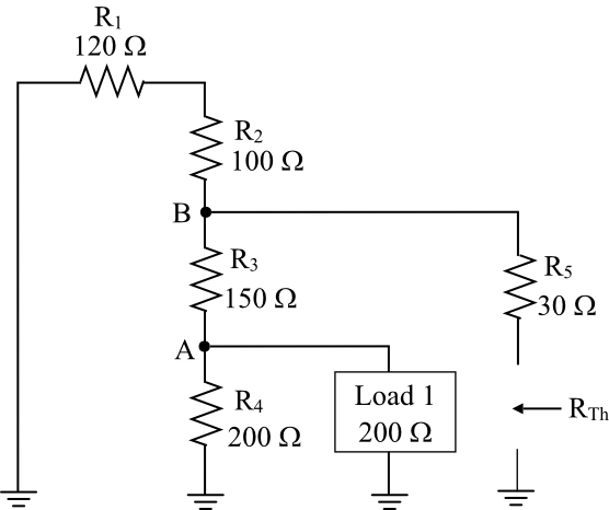 Solved: Derive the Thevenin equivalent circuit for Load 2