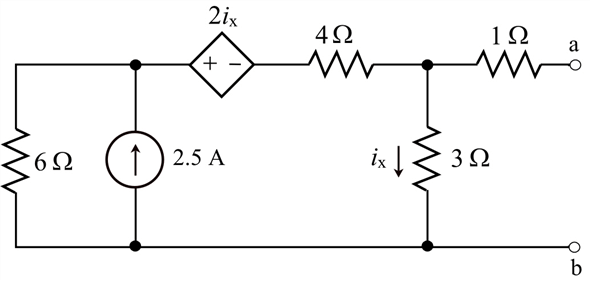 Solved: Find the Norton equivalent circuit for the circuit
