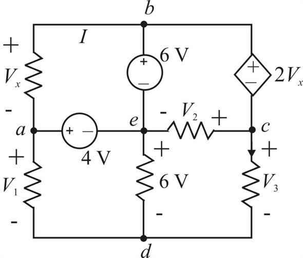Solved: Find V1, V2, and V3 in the network in Fig. P2.27