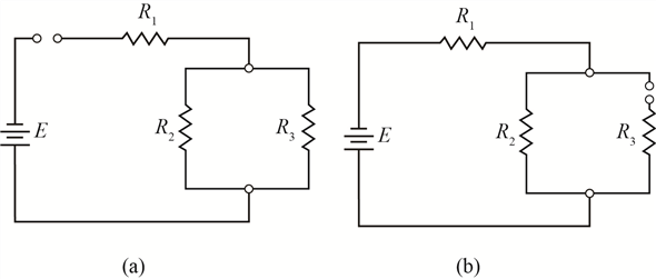Solved: What would be the effect of an open circuit in a