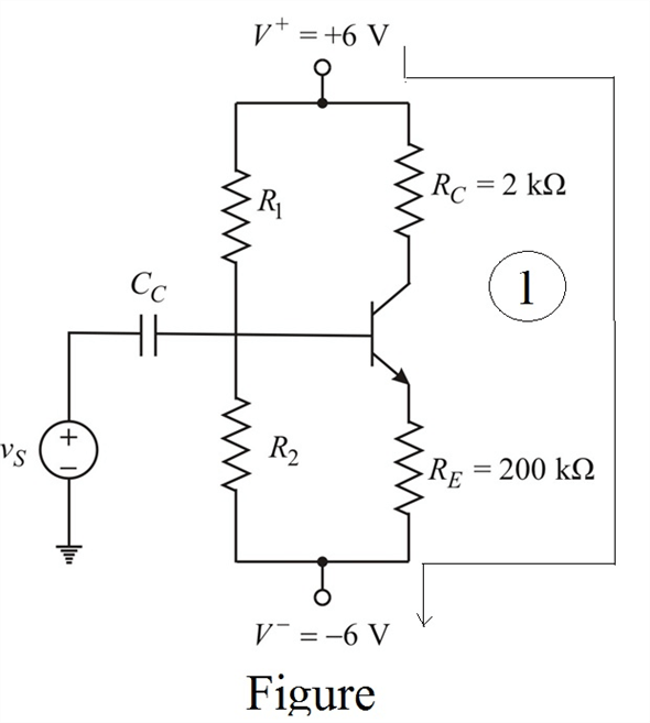 Solved: Using the circuit in Figure P5.61,design a bias