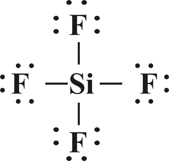 Solved: The molecules SiF4, SF4, and XeF4 have molecular