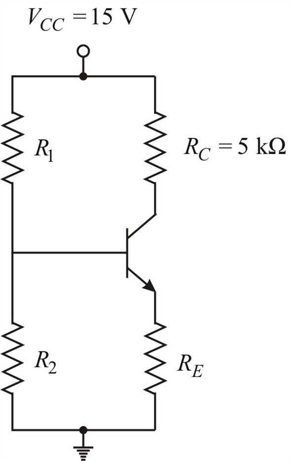 Solved: The nominal Q-point of the circuit in Figure P5.67