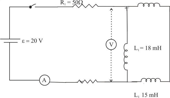 Solved: CP In the circuit shown in Fig. P30.57, the switch