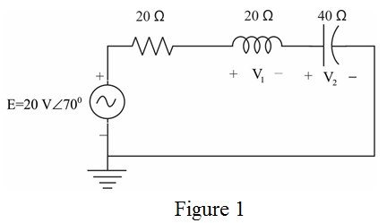 Solved: Calculate the voltages V1 and V2 for the circuits
