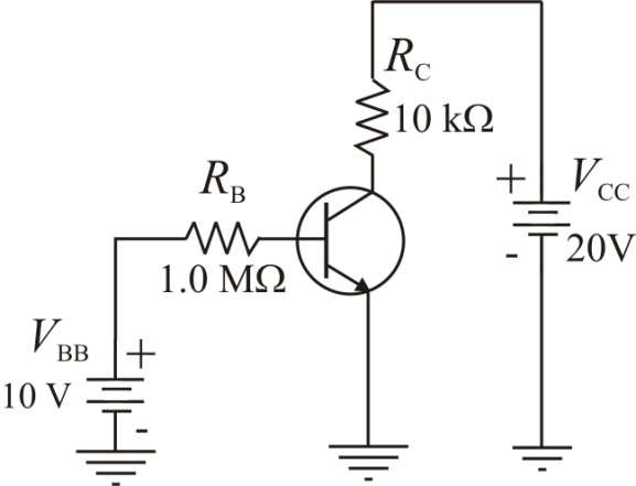 Solved: Assume that you wish to bias the transistor in