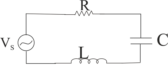 Solved: An L-R-C series circuit is connected to an ac